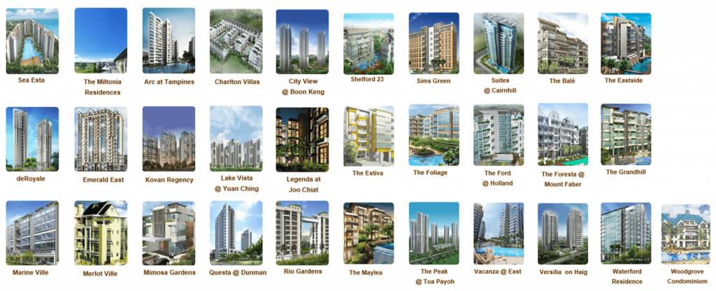 Rivercove Residences EC Developer's Track Record (Past Launches)