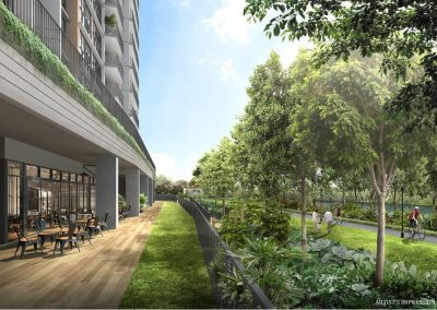 Rivercove Residences Artist's Impression