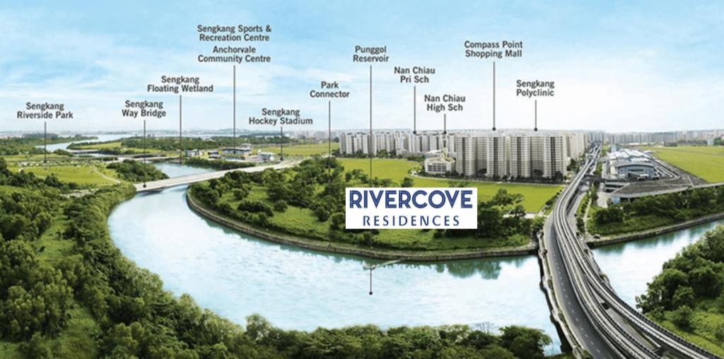 Rivercove Residences EC Nearby Amenities